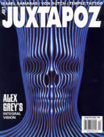 Juxtapoz no.42 cover